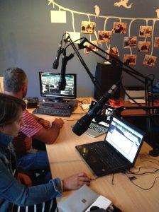 studio de la radio de Zakros