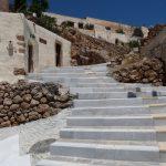 Escalier entre moulins